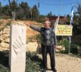 yossi-baumol-at-hitchhikers-monument-in-memory-of-the-3-boys